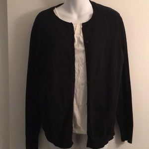 Merona button down cardigan XL